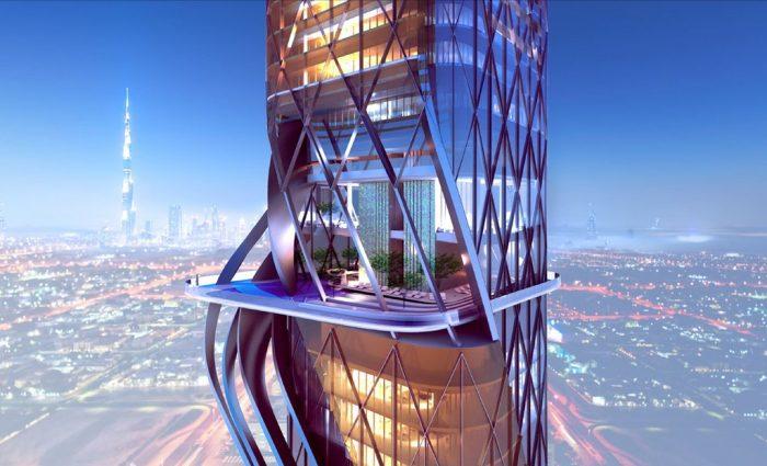 هتلی در دبی که درونش یک جنگل ساخت انسان دارد