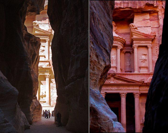 پترا ، شهری باستانی که شما را شگفت زده خواهید کرد!