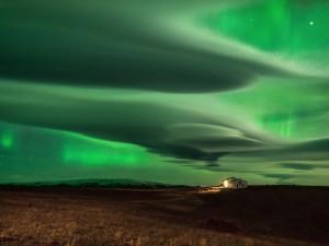 عنوان: شفق قطبی، آیسلند عکاس: Daniele Boffelli