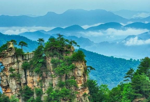 شگفت انگیزترین مجموعه کوه های چین به روایت عکس
