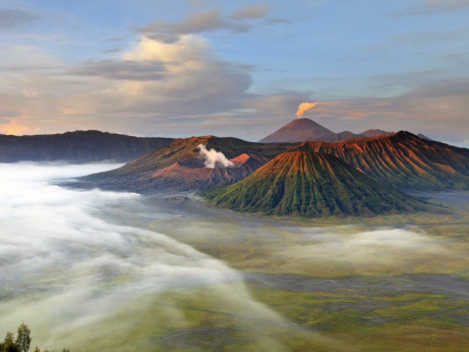 Bromo Volcano: East Java, Indonesia