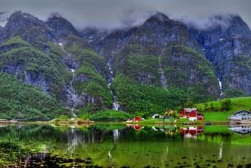 ۲۲ عکس از طبیعت نروژ که شما را مشتاق دیدار این کشور می کنند!