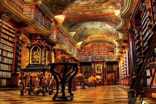 مراقب باشید در زیباترین کتابخانه جهان گم نشوید!