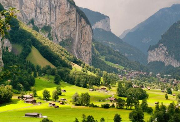 زیبایی تمام نشدنی این منطقه از سوییس