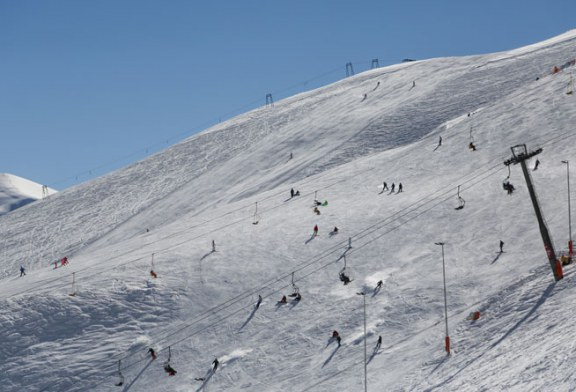 عکسهای دیدنی از پیست اسکی دربندسر