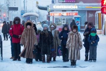 زندگی در سردترین شهر جهان به روایت تصویر