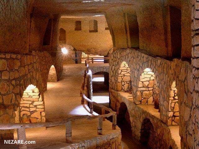 شهر زیرزمینی کاریز کیش