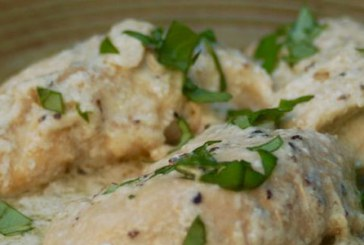 طرز تهیه مرغ خامه ای ایتالیایی