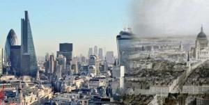 مدرن ترین شهرهای جهان قبلا به چه شکل بوده اند؟