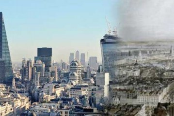 مدرن ترین شهرهای جهان قبلا به چه شکل بوده اند؟ (عکس)