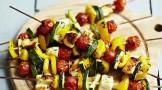 کباب سبزیجات یونانی