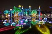 پارک بسیار دیدنی نور در دبی