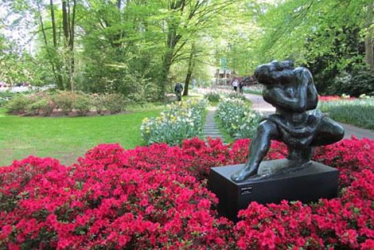 یکی از زیباترین پارک های هلند به نام کوکنهوف