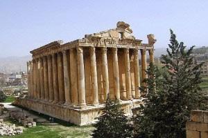 معبد ژوپیتر در بعلبك لبنان