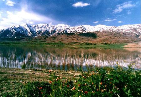 تالاب گندمان یکی از 10تالاب زیبای ایران
