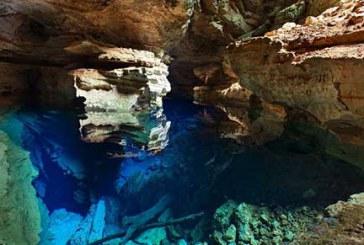 چشمه ای در دل غارهای برزیل