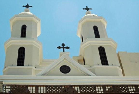 کلیسایی در مصر که به «کلیسای معلق» معروف است