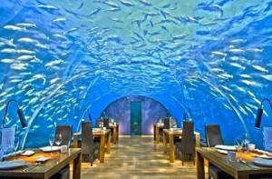 رستوران های مجلل زیر آب