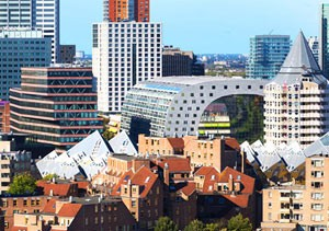 بازار تونلی عجیب رتردام