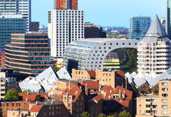 بازاری شگفت انگیز به شکل تونل در هلند
