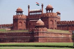 قلعه سرخ یا لال قلعه در هندوستان