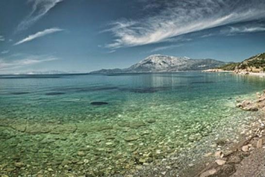 جزیره ساموس در ترکیه با طبیعت زیبایش