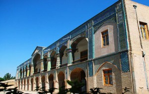 عمارت مفخم یکی از آثار تاریخی زیبای بجنورد