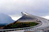 نروژیها با این پل به آخر دنیا می روند!