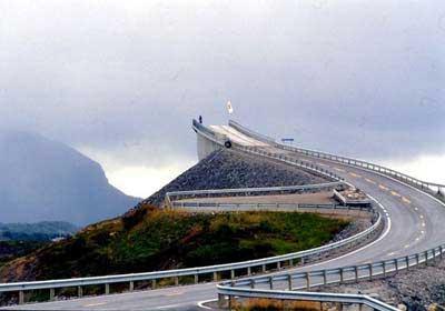 پلی که نروژیها را به آخر دنیا میبرد
