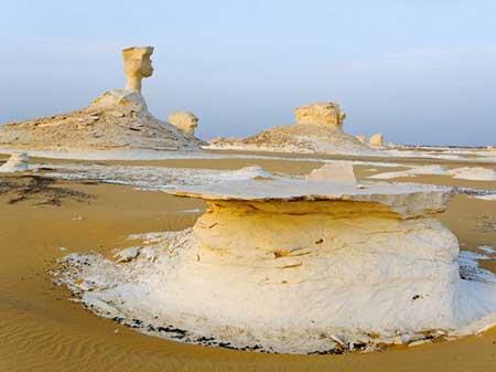عجیب ترین کویر دنیا در مصر