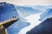 ترسناک ترین جاذبه طبیعی نروژ