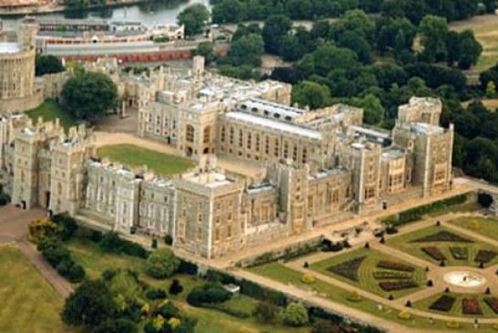 معرفی قلعه ویندسور Windsor Castle انگلستان