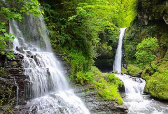 آبشار زمرد زیباترین آبشار ایران