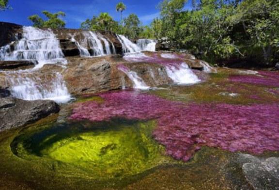 رودخانه ای با رنگ های بسیار عجیب + عکس