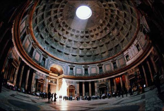 معبد پانتئون ، یکی از زیباترین معابد جهان