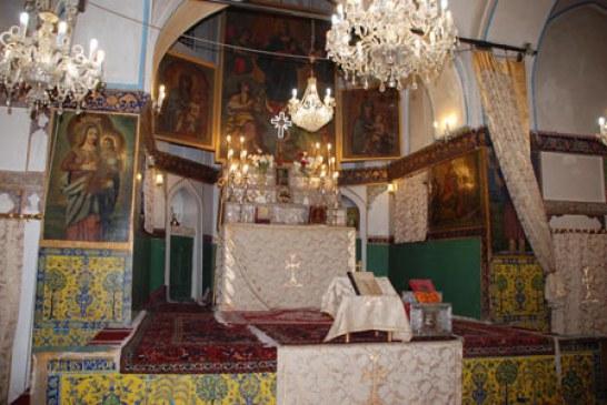 معرفی کلیسای مریم مقدس در اصفهان + عکس