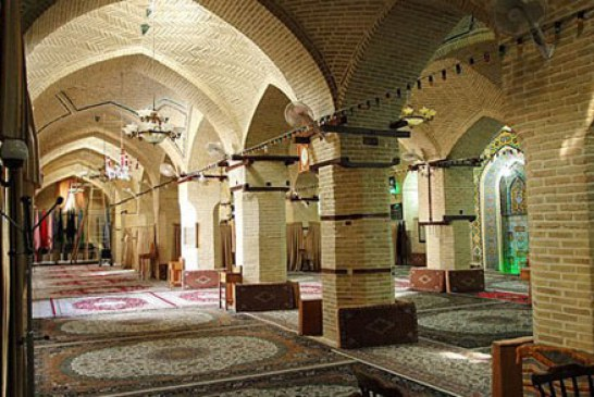 مسجد بسیار دیدنی عمادالدوله در کرمانشاه