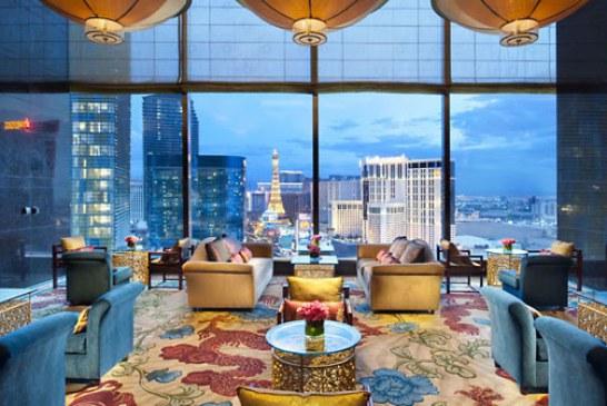 هتل بسیار زیبا و دیدنی ماندارین اورینتال در لاس وگاس