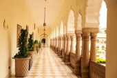 هتل لوکس رام باغ پالاس در هند به روایت تصویر