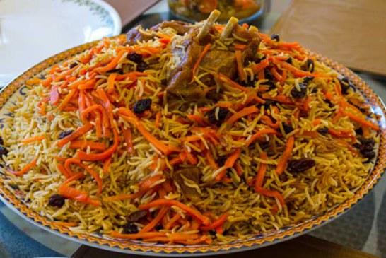 طرز تهیه مانی پلو، غذای محلی دامغان