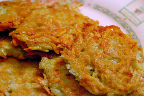 طرز تهیه پنکیک سیب زمینی لهستانی