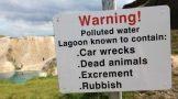 """دریاچه ای زیبا اما بسیار """"خطرناک"""" در انگلستان"""