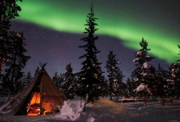 در لاپلاند سوئد لذت بردن از سرما را یاد بگیرید