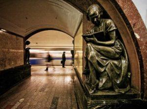 مترو شهر مسکو از زیباترین متروهای جهان