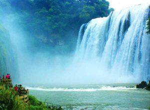 آبشار بی نظیر و دیدنی «هئوانگ گوژو» در چین به روایت تصویر
