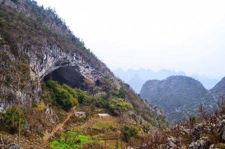 روستایی در اعماق «غار» با جمعیت 100 نفر!