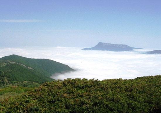 جنگل ابر شاهرود، بهشت پاییزی سمنان