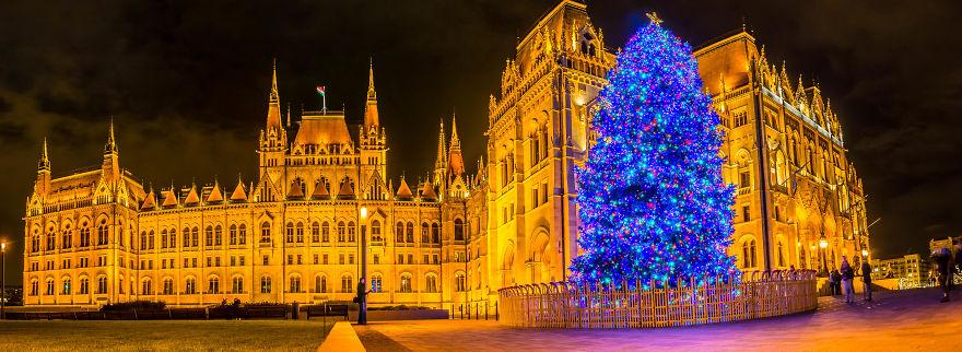 کریسمس بوداپست ، پایتخت مجارستان به روایت تصویر (2017)