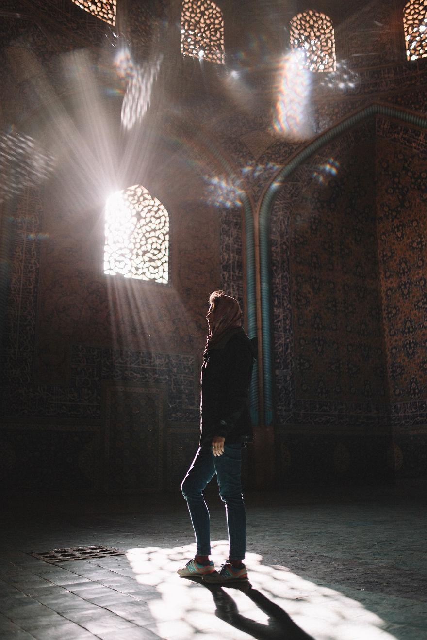 تصاویر بی نظیر از سفر 3 دختر لهستانی به ایران