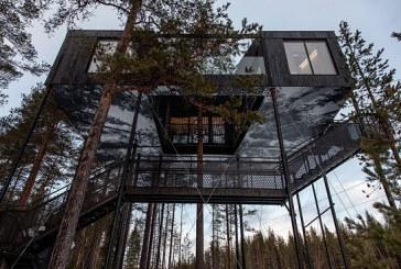 هتل درختی سوئد